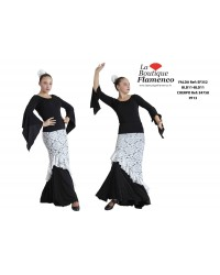 Jupe flamenco réf EF352BLD