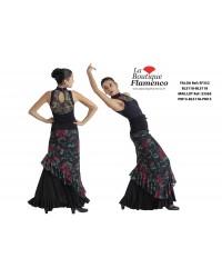 Jupe flamenco réf EF352BLS
