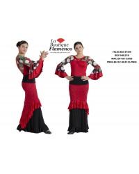 Jupe flamenco réf EF390BLD