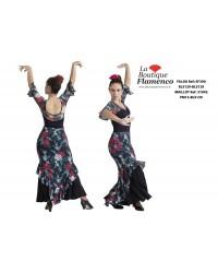Jupe flamenco réf EF390BLS