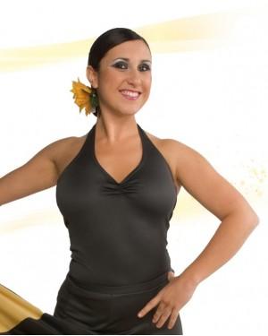 Top flamenco réf E4550 à personnaliser