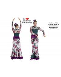 Jupe flamenco réf EF393TME