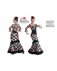 Jupe flamenco réf EF396PFE