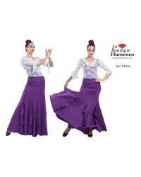 Jupe flamenco réf EF216