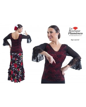 Top flamenco réf E4747