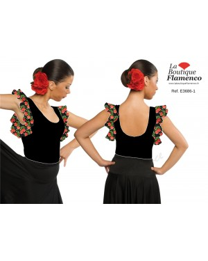 Body flamenco réf E3686-1 à personnaliser