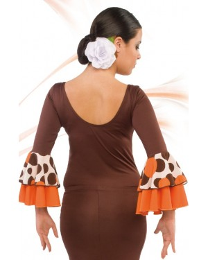 Top flamenco réf E4563 à personnaliser