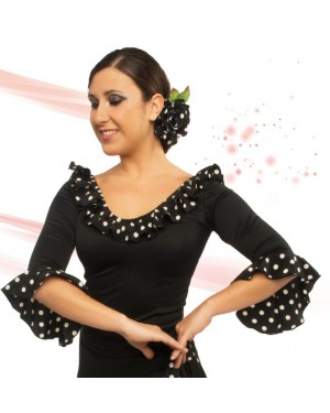 Top flamenco réf E4564 à personnaliser
