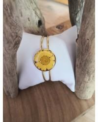 Jonc Marguerite Soleil jaune