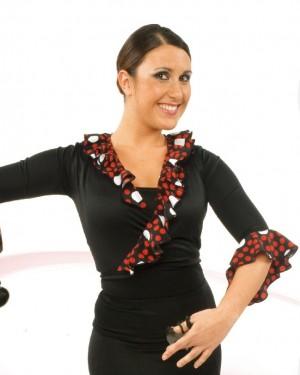 Cache-coeur flamenco réf E4259 à personnaliser