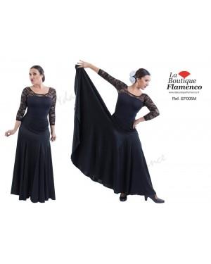 Jupe flamenco réf EF005 unicolore à personnaliser