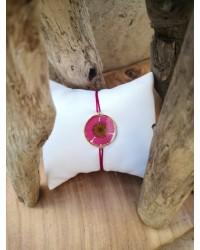 Bracelet Marguerite rose