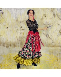 Jupe flamenco Gloria Feria