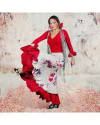 Jupe flamenco Gloria Carla