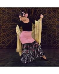 Jupe flamenco Malaga Manilla