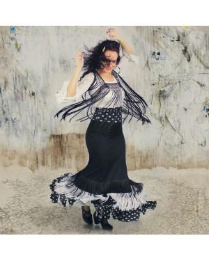 Jupe flamenco Revuelo Gales
