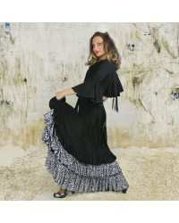 Jupe flamenco Victoria Lluvia