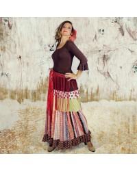Jupe flamenco Camino Dama