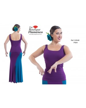 Top flamenco réf E4548 à personnaliser
