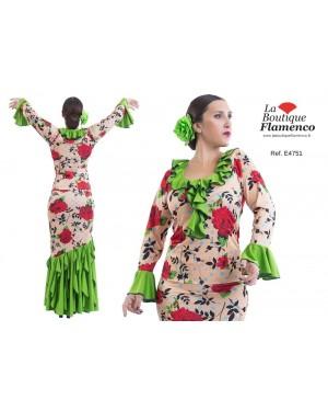 Top flamenco réf E4751/PSI à personnaliser
