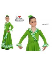 Cache-coeur court flamenco fillette réf E3672-1/E à personnaliser