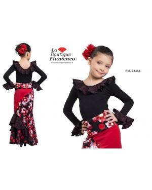 Body flamenco fillette réf E4464/E à personnaliser