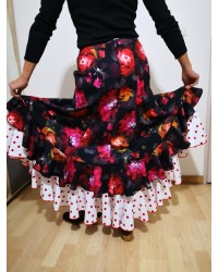Jupe flamenco Gloria berta