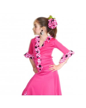 Cache-coeur flamenco fillette réf E4290/E à personnaliser